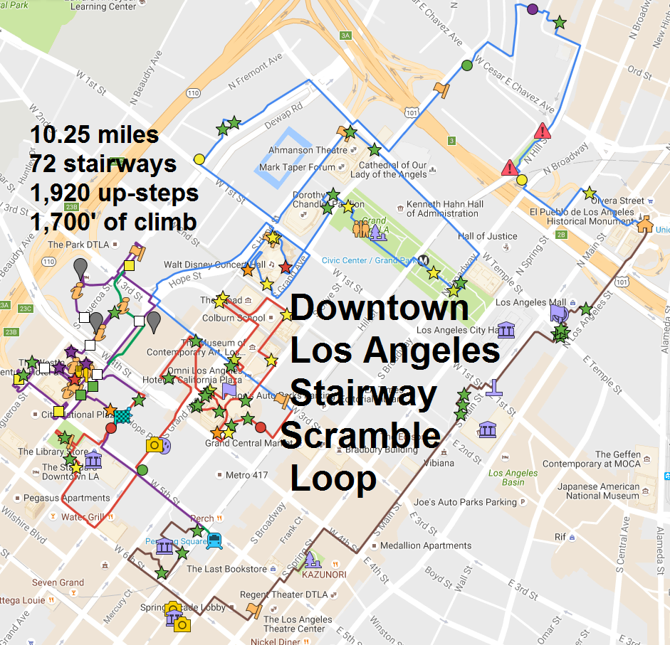 dtla-10-mile-google-route-map-legend