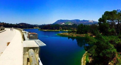 Hollywood Reservoir from Kimberly