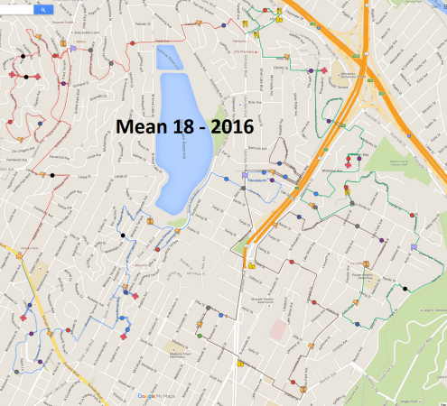 Mean 18 - 2016 Route