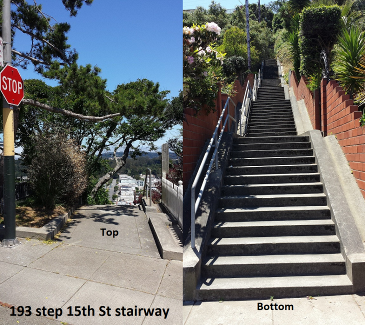 15th St Stairway