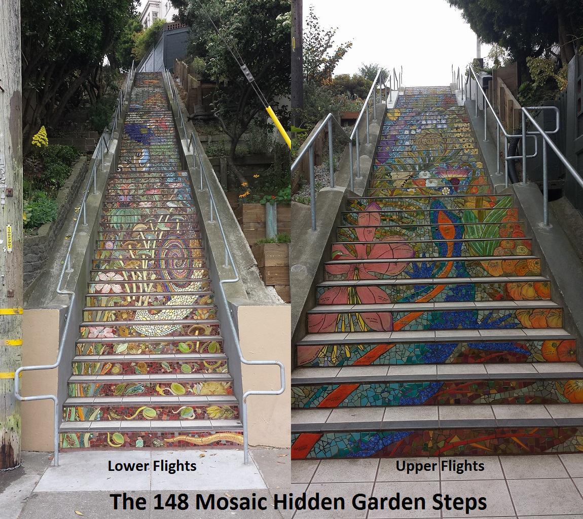 Hiden Garden Steps