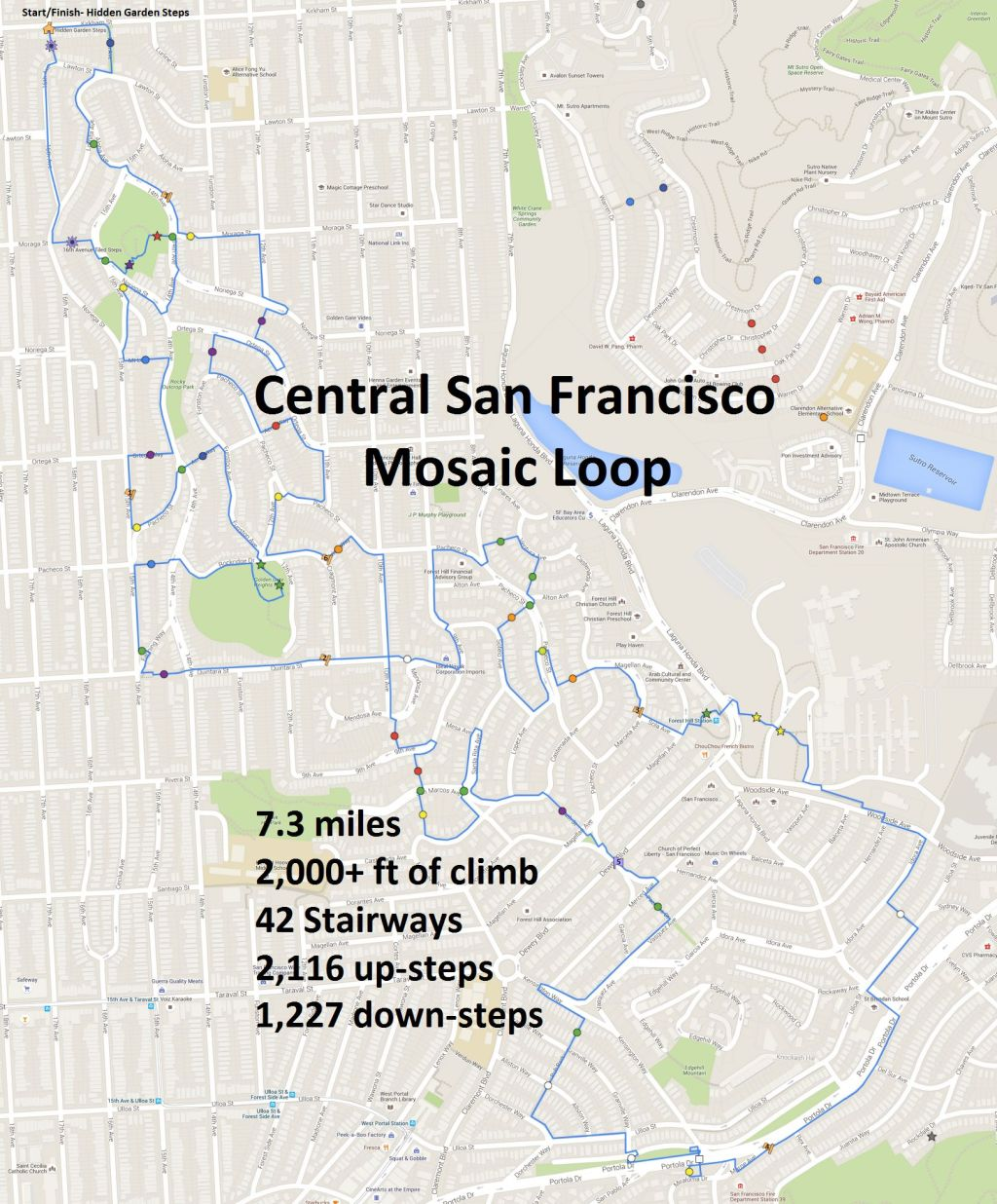 Mosaic Loop Google Map