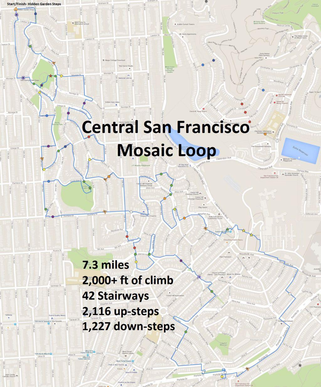 Mosaic Loop Google Map