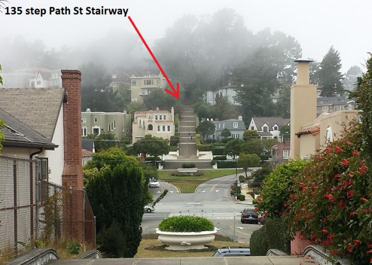 Path St Stairway