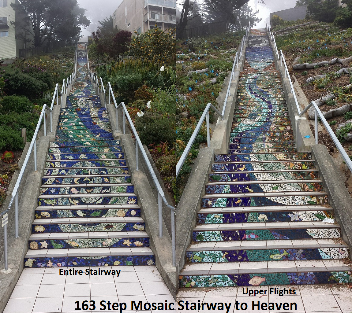 Stairway To Heaven Mosaic