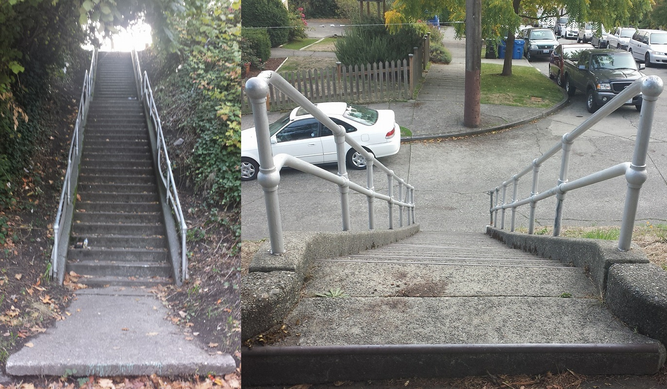 Last Two Stairs