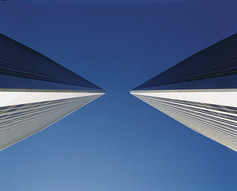 century-plaza-towers-looking-up-from-between-them