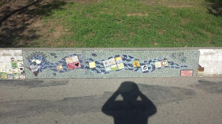 Eagle Rock Rec Ctr Mosaic Snake
