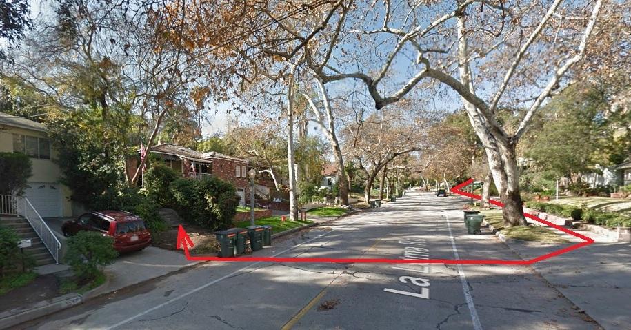 Entrance to La Loma-Evergreen