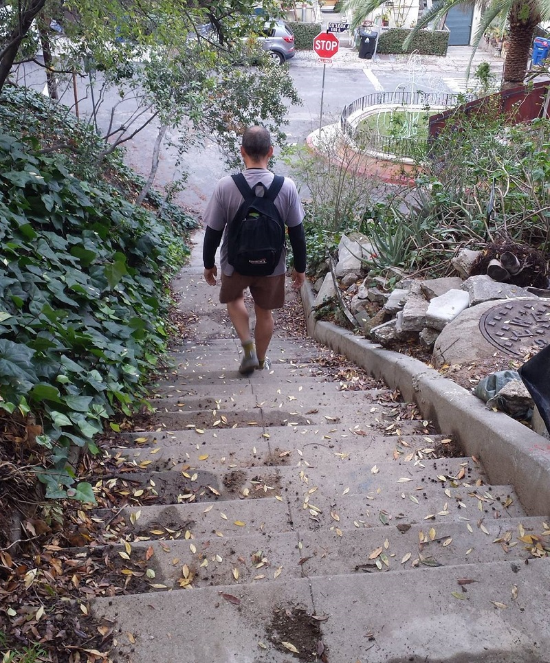 ... Stairs And Turn Left Onto Lamont, Then Left On Outlook Ave And Stay On  The Near Side Sidewalk, And Head Down The Hill. Turn Left Onto Livermore  Terrace, ...