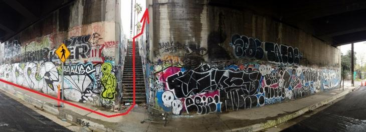 san-fernando-rd-stairway-panorama