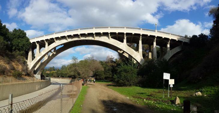 San Rafael Bridge Panorama
