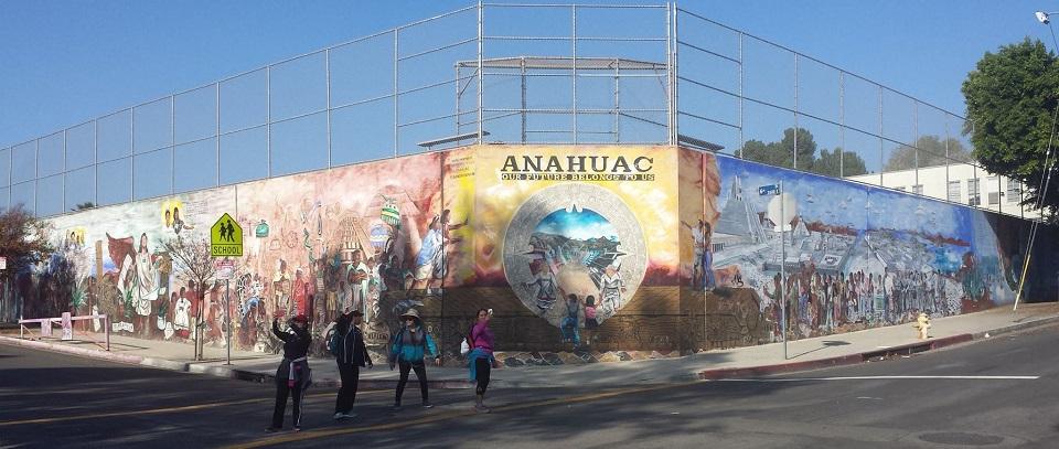 ANAHUAC murals