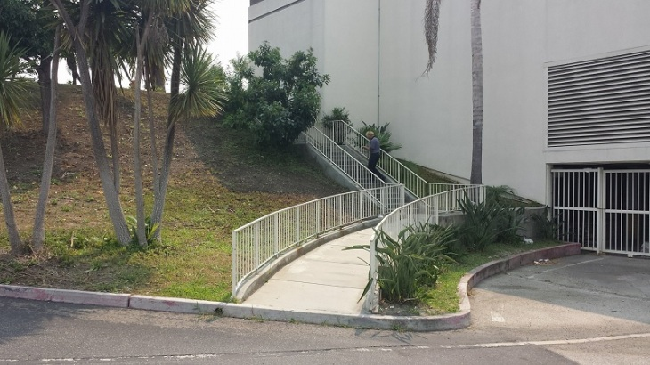 Hotel Rd Stairs