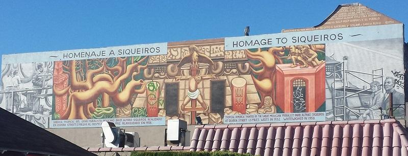 Tropical America Homage Mural - 800w
