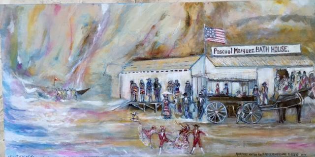 12 Vincent painting Pacual Marquez bath house