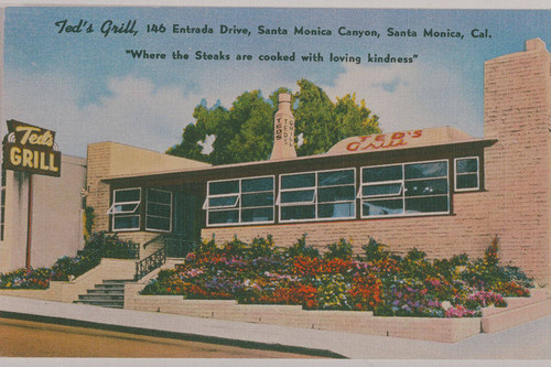 36 Teds Grill 146 Entrada postcard