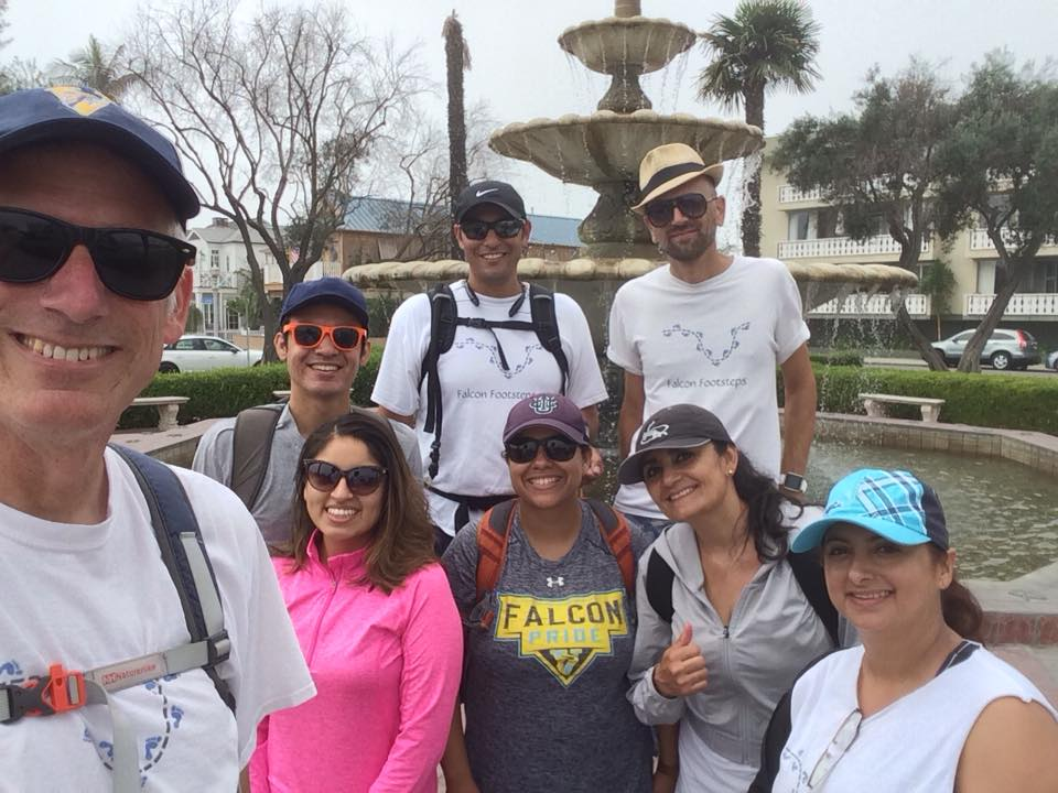 Falcon Footsteps 8 official finishers of the LA Loop 8Sep2018