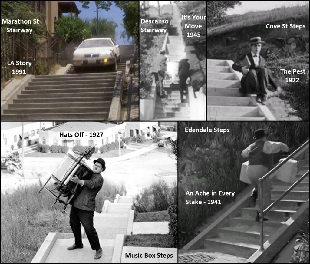 5 movie stairway scenes-Legend-stairs-movies-years